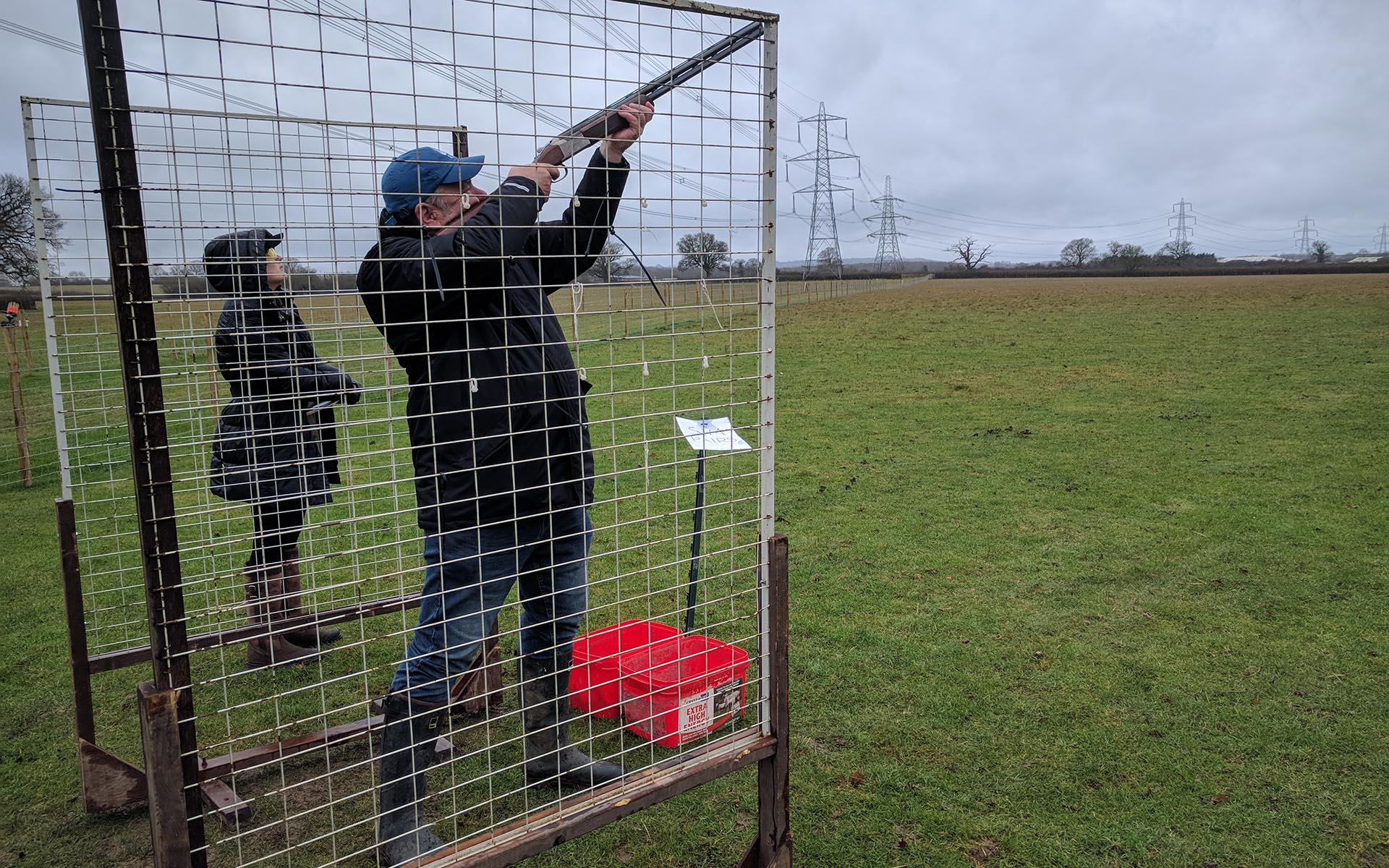 Kingswood Buckinghamshire Clay shooting at Doddershall