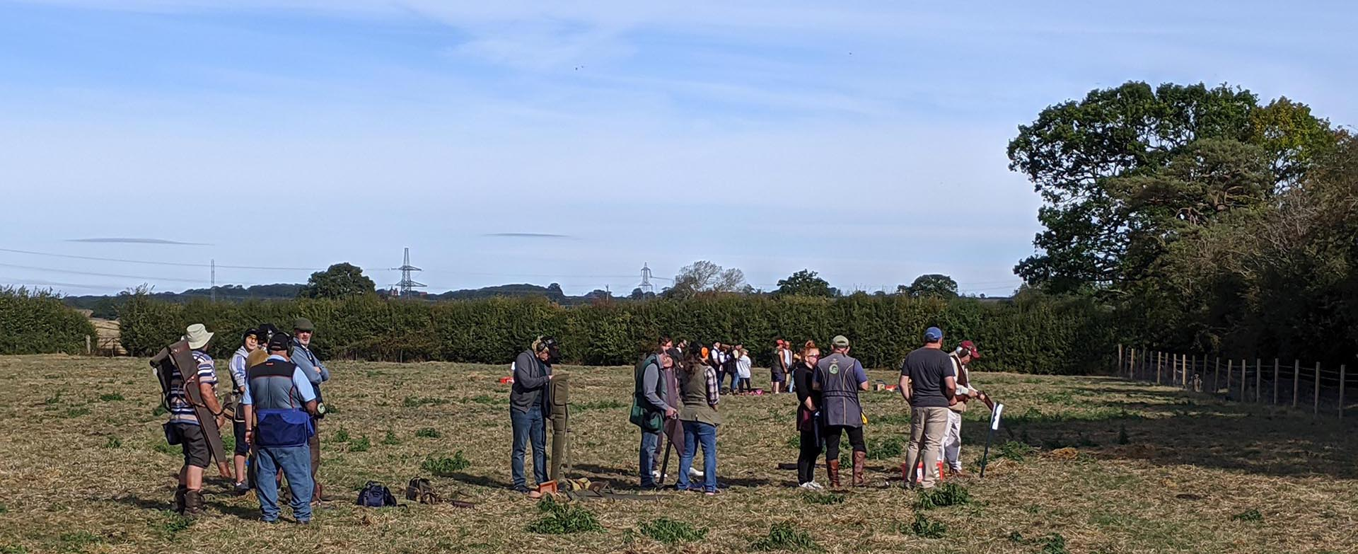 Quainton shooting ground September 15th 2019